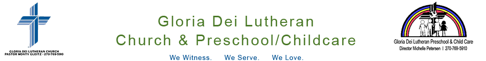 Gloria Dei Lutheran Church & Child Care